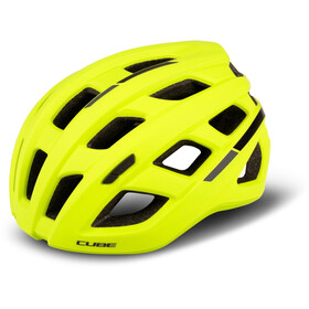 Cube Roadrace Helm yellow